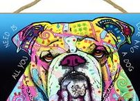 Bulldog Dog Lover / Beautiful Bulldog artwork, Bulldog gifts, and more! Everything you love about the Bulldog!