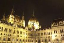 Hungarian Parliament / Hungarian Parliament at night, 8pm February 15., 2016