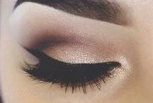 Eye makeup inspiration / All things eyes! Shadow, lashes and lining.
