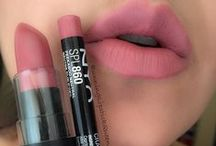 Lip inspiration / Stains, colors and glosses. Lip makeup I love!