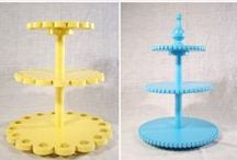 Ok, Fine. Cake Stands need their own board. / by Felicity Adams