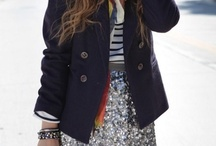 other cute clothes! / A little of everything - preppy, hipster, vintage, sporty, whiteout, blackout, glamorous, casual - and all of it kind of girly. What I like to wear. / by Grace Mantyh