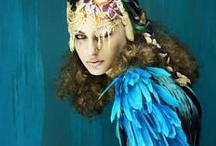 Costume Board: The Peacock Queen