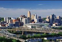 Cincinnati - City of my Youth / I lived in Cincinnati from 2nd grade through high school graduation (1954 - 1965), plus five years during my first civilian job (1973 - 78). / by Rob Sanders