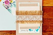 Paper Porn & Printables. / Envelopes, Wrapping, Invitations, Stationary, Paper Awesomeness, and Printables. / by Bailey Blu