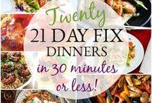 21 Day Fix Recipes / 21 Day Fix Recipes for the Beachbody Programs