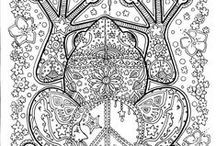 zentangle / mandala / by Casee Marie