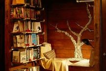 Libraries and Bookshelves / by Casee Marie