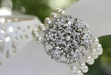 Cuffed / Lace, chunky jewels, buttons, and pearls on your wrist. / by Cindy Hayes