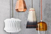 Statement Lighting / The right lighting really does make a room, and with these statement light fixtures and ideas you can change the whole tone of any space - regardless of whether you go bright and bold or for minimalist chic.  / by notonthehighstreet.com