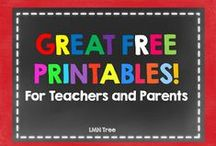 Printables for Educators / Free Printables related to education / by Portable Walls & Art Displays
