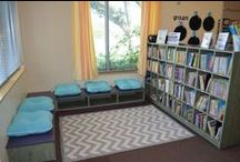 Creating Reading Corners & Book Nooks / A compilation of ideas for creating reading corners or nooks in your classroom or Library