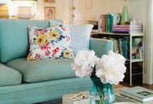 Salas / Inspirações de decoração de salas