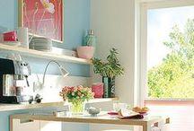 Cozinhas / Inspirações e decoração para cozinhas <3