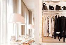 Closets / Inspirações para closets