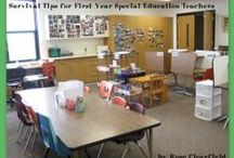 Just For Special Education Teachers / Tips, tricks, ideas, advice and projects for special education teachers or working with special ed students