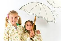 Rainy Day Activities / There's plenty you can do with the kids to keep them entertained when the weather's not great. From den building to puppet shows, wintery walks to tin can telephones, here are our top tips for making to most of those rainy days. / by notonthehighstreet.com