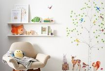 Trend Watch: Woodland Nursery / Simple, modern and bursting with colour, transforming your little one's nursery into a forest is all about creating a playful space inspired by the great outdoors. / by notonthehighstreet.com