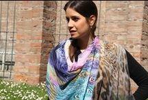 Springtime shawls / #springcollction  #royalvilla #monza #shop.marinafinzi.com