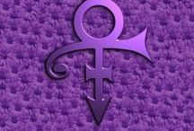 Prince, the PURPLE ONE! / His music transcends time...a true master at heart.  Music and Fashion were his thing.  There is no other that could or will be like him.  Music was in every cell of his being.  He will live on...and the music will stay with us...  Rest in Peace Prince.  You were a Prince among men and the world was brighter for your being here.  We will miss you! / by Michelle Asbell