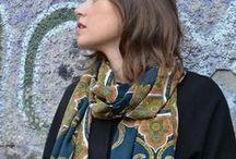 Sciarpe  a Milano / Come indossare una stola per completare il tuo outfit d'autunno