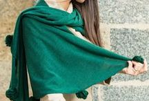 Winter shawls / Winter shawls by Marina Finzi Collection