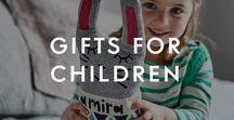 Gifts For Children / Our gifts for children will keep them entertained for hours - from personalised storybooks that they'll want to read again and again, to soft knitted toys and personalised clothes. With plenty of reasons to spoil them, you'll find gift ideas for children's birthdays or just when you want to treat them.