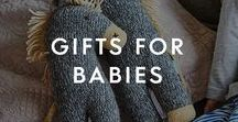 Gifts For Babies / If you are looking for the perfect way to celebrate your favourite little humans, look no further. From new baby gift ideas to christening gifts, we've got stylish toy crates,  personalised bath robes and wooden toy trains that they will love to play with.