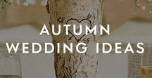 Autumn Wedding Ideas / Whether it's an Autumn wedding dress you are looking for or some October wedding inspiration, we've curated the best that our partners' have to offer. Find Autumn wedding ideas from Autumn wedding invitations to Halloween wedding ideas and even rustic Autumn centerpieces.