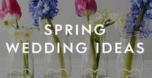 Spring Wedding Ideas / With endless Spring wedding colour schemes to choose from, we curated the some unique Spring wedding decorations and soft pastel florals to bring your wedding vision together.