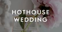 Hothouse Wedding / Not heard of this one yet? This collection mixes up old-school glamour with all things botanical – creating a stylish, statement look. From exotic flowers (even edible ones) to personalised stamps, here are our favourite ideas to style a tropical wedding…