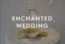 Enchanted Wedding / If you're planning a fairytale wedding with a twist, this one's for you. For this original, curated collection, we've combined semi-precious stones and stunning crystals with a colour palette of rosewater pink and forget-me-not blues – your day is sure to be enchanting.