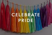 Celebrate Pride / Spread love this Pride month by celebrating equality, diversity, and the full spectrum of pride love with our rainbow coloured gifts and decor.