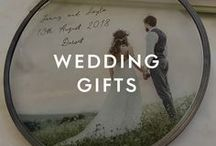 Wedding Gifts / You've got the invite. You've got the outfit. And you've got no idea what to buy them. Luckily, our collection of wedding gifts for the bride and groom is packed full of unique wedding gift ideas to make the happy couple that little bit happier.