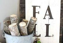 Fall Decor / Inspiration for adding fall decor to you home
