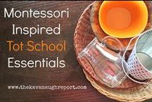 Montessori / Maria Montessori created materials centered on the child's natural interest to learn. This collection of Montessori pins curates the best of sensorial, practical life, science, math and geography materials. / by Carly Simon on Pinterest