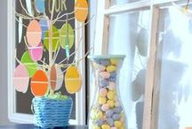 Easter / Easter decor and simple crafts