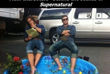 #Supernatural / For life's never boring in fandomworld. And just because I adore the show and the actors and I have developed somewhat of an obsessions towards them...