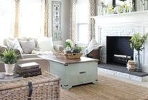 Living Room Inspirations / Inspiration for creating the living room of your dreams!