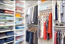 Closet Inspirations / Inspiration for creating the closet of your dreams!