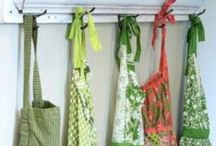 """Aprons / """" Aprons Are Tokens Of Days Gone By."""" / by Sandy Byrd"""