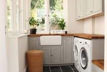 Laundry Room Inspirations / Inspiration for creating the laundry room of your dreams!