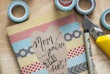 DIY Cards / All them pretty and useful DIY postcard ideas!