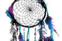 Dreamcatchers / A collection of dreamcatchers all around the web: for inspiration and admiring <3