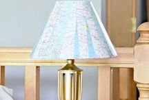 Home Decor : Maps / Fantastic ideas for using maps in your home decor