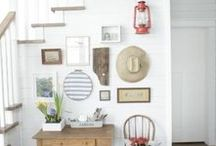 Home Decor: Gallery Walls / Gallery Walls, wall decor and art