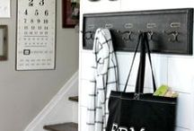 Entryway Inspirations / Entryway/Mud Room/Drop Zone inspirations for the home