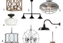 Home Decor: Lights & Lamps / Beautiful lights and lamps to dress up your home