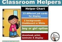 Classroom Organization / making your classroom student friendly