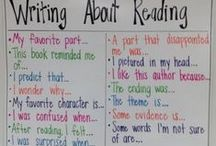 Anchor Charts / easy displays for teaching
